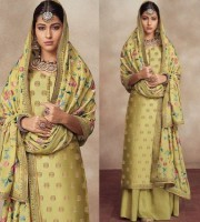 Sharara Suit Heavy Embroidered (DPG08)